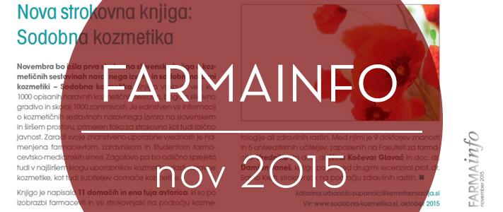 FARMAInfo, november 2015